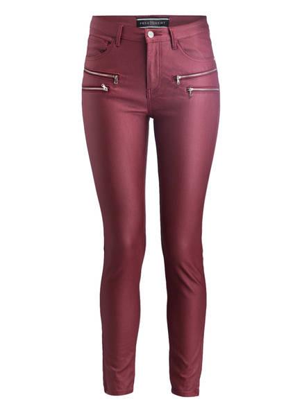 FREEQUENT Skinny-Jeans AIDA, Farbe: BORDEAUX (Bild 1)