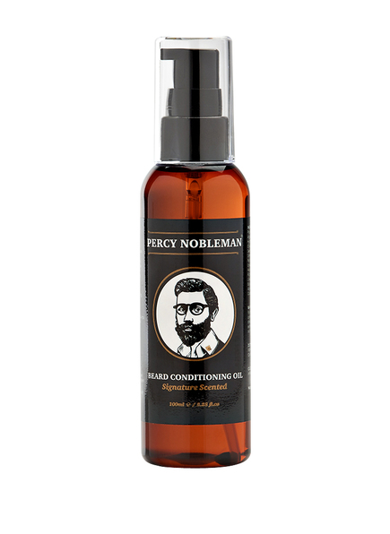 PERCY NOBLEMAN SCENTED BEARD CONDITIONING OIL (Bild 1)