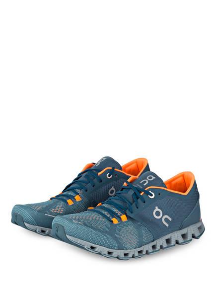 On Running Laufschuhe CLOUD X , Farbe: GRAU/ BLAU  (Bild 1)