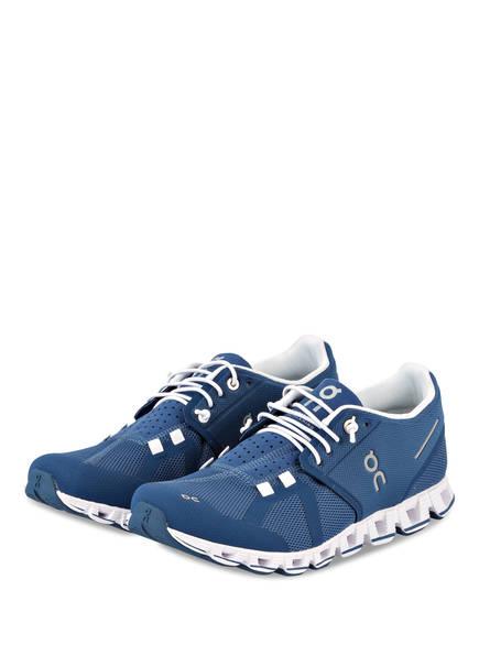 On Running Laufschuhe CLOUD, Farbe: BLAU/ WEISS (Bild 1)