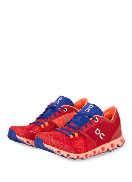 On Running Laufschuhe CLOUD X, Farbe: ROT/ BLAU (Bild 1)