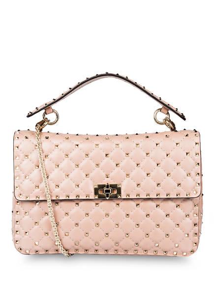 VALENTINO GARAVANI Handtasche ROCKSTUD SPIKE LARGE, Farbe: POUDRE (Bild 1)