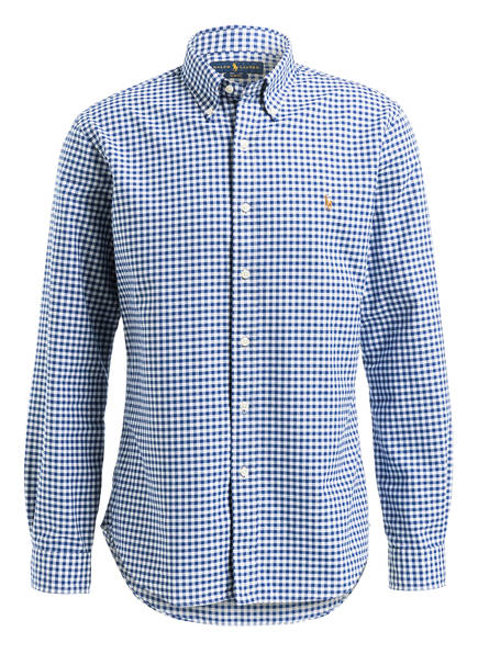 POLO RALPH LAUREN Oxfordhemd Slim Fit, Farbe: WEISS/ HELLBLAU (Bild 1)