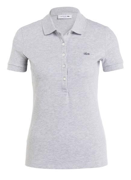 LACOSTE Piqué-Poloshirt, Farbe: GRAU MELIERT (Bild 1)