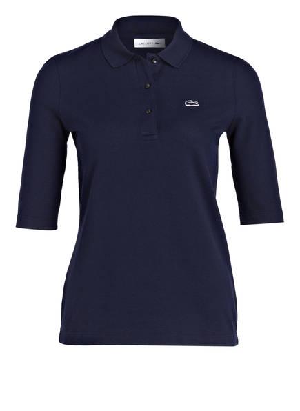 LACOSTE Piqué-Poloshirt mit 3/4-Arm, Farbe: NAVY (Bild 1)