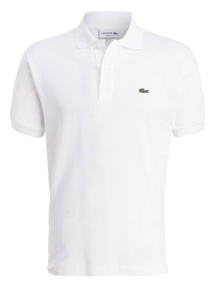 LACOSTE Piqué-Poloshirt Classic Fit, Farbe: WEISS (Bild 1)
