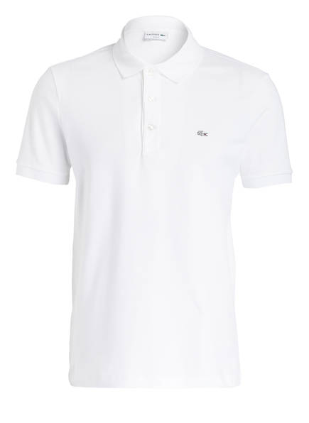 LACOSTE Stretch-Poloshirt Slim Fit, Farbe: WEISS (Bild 1)