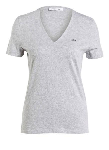 LACOSTE T-Shirt, Farbe: GRAU MELIERT (Bild 1)