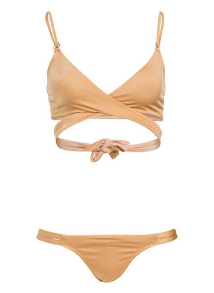 MELISSA ODABASH Bustier-Bikini INDONESIA, Farbe: GOLD (Bild 1)