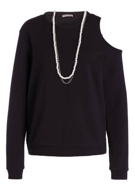 Buena Vista Sweatshirt mit Perlenkette, Farbe: SCHWARZ (Bild 1)