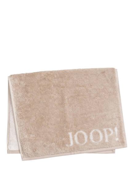 JOOP! Gästehandtuch CLASSIC DOUBLEFACE , Farbe: HELLBRAUN  (Bild 1)