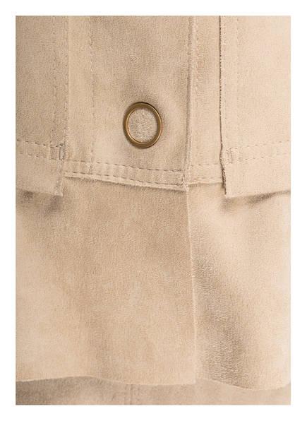 MARCCAIN Jacke in Veloursleder-Optik