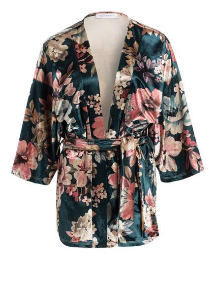 RINASCIMENTO Kimono, Farbe: DUNKELGRÜN/ ROSA/ BEIGE (Bild 1)