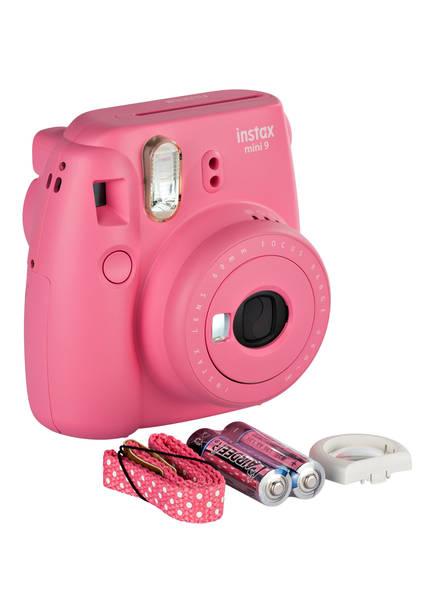 FUJIFILM Sofortbildkamera INSTAX MINI 9, Farbe: PINK (Bild 1)