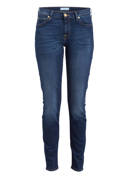 7 for all mankind Skinny Jeans THE SKINNY, Farbe: B(AIR) DUCHESS BLAU (Bild 1)