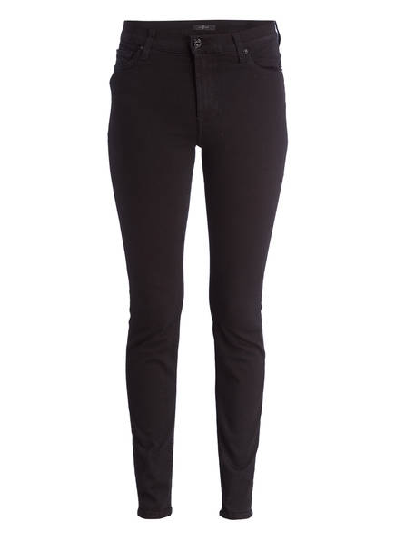 7 for all mankind Skinny Jeans , Farbe: SIIILURIBI BLACK (Bild 1)