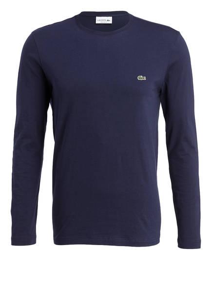 LACOSTE Langarmshirt Regular Fit, Farbe: NAVY (Bild 1)