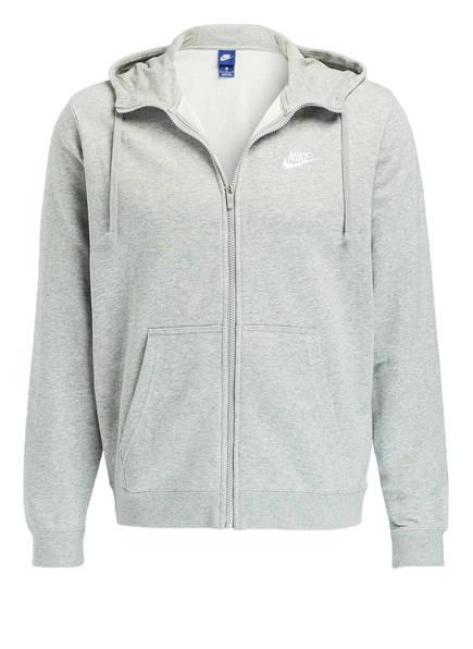 Nike Hoodie CLUB , Farbe: GRAU MELIERT (Bild 1)