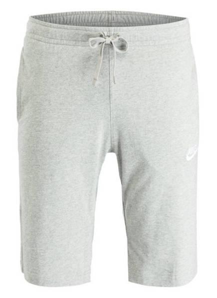 Nike Sweatshorts CLUB, Farbe: GRAU MELIERT (Bild 1)