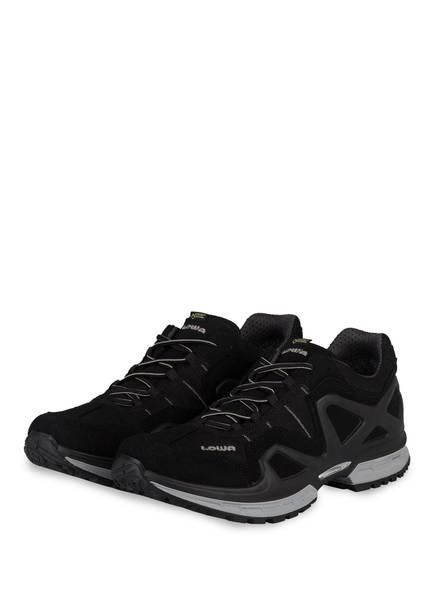 LOWA Outdoor-Schuhe GORGON GTX, Farbe: SCHWARZ/GRAU (Bild 1)