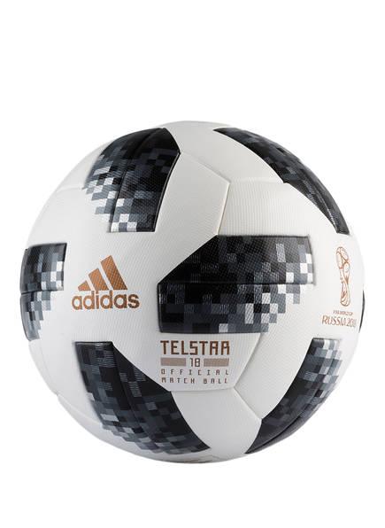 adidas Spielball OMB, Farbe: WEISS/ SCHWARZ/ SILBER (Bild 1)
