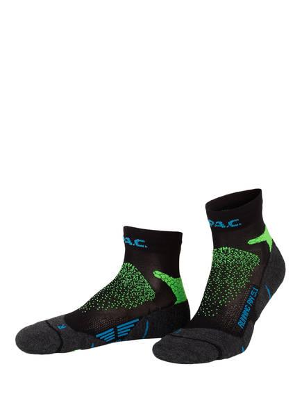 P.A.C. Running-Socken RN 5.1 PRO SHORT, Farbe: 750 NEON GREEN (Bild 1)