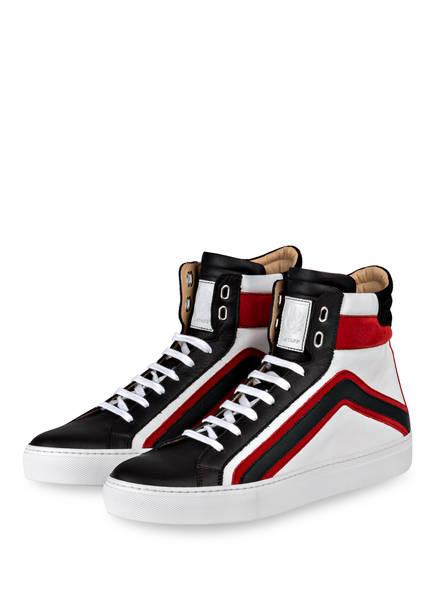 Hightop-Sneaker AMPTON - WEISS/SCHWARZ/ROT Belstaff Auslass Nicekicks Günstig Kaufen Limited Edition Billig Verkauf Sehr Billig oVBfuhMcqf