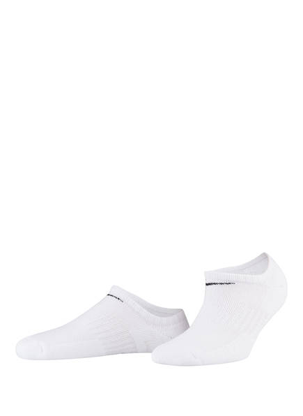 Nike 3er-Pack Sportsocken PERFORMANCE CUSHIONED NO SHOW , Farbe: 100 WHITE	 (Bild 1)