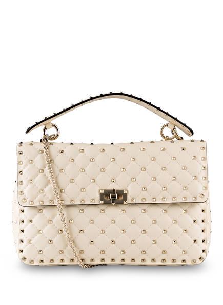 VALENTINO GARAVANI Handtasche ROCKSTUD SPIKE LARGE, Farbe: IVORY (Bild 1)