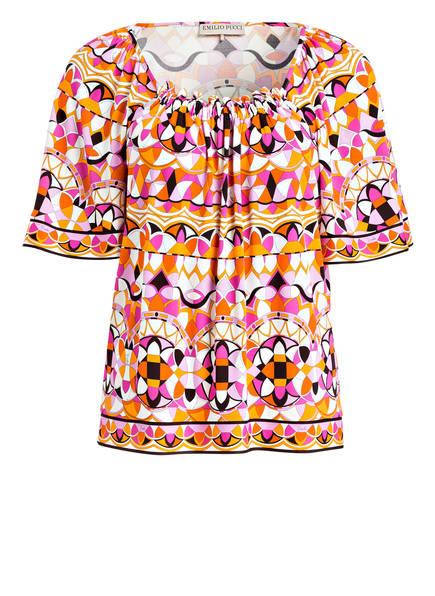 EMILIO PUCCI T-Shirt, Farbe: ROSA/ ORANGE/ WEISS  (Bild 1)
