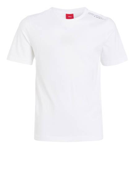 s.Oliver T-Shirt, Farbe: WEISS (Bild 1)