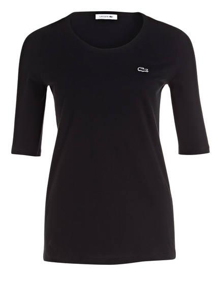 LACOSTE T-Shirt mit 3/4-Arm, Farbe: SCHWARZ (Bild 1)