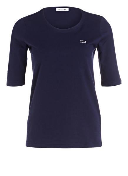 LACOSTE T-Shirt mit 3/4-Arm, Farbe: NAVY (Bild 1)