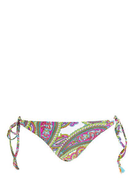 Freya Bikini-Hose NEW WAVE , Farbe: WEISS/ PINK/ GRÜN  (Bild 1)