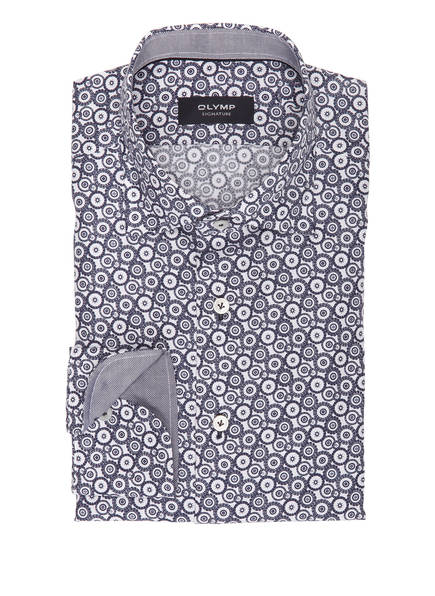 OLYMP SIGNATURE Hemd tailored fit, Farbe: DUNKELBLAU (Bild 1)
