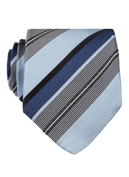 OLYMP SIGNATURE Krawatte, Farbe: HELLBLAU/ BLAU  (Bild 1)