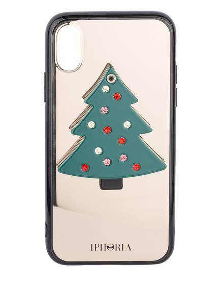 IPHORIA Smartphone-Hülle CHRISTMAS TREE, Farbe: GRÜN/ SCHWARZ (Bild 1)