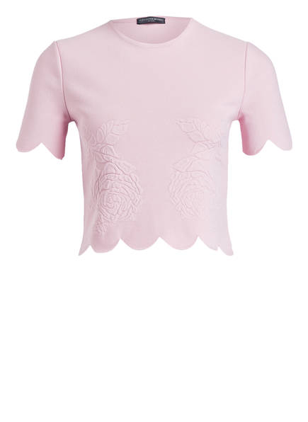 ALEXANDER McQUEEN Cropped-Shirt, Farbe: ROSA (Bild 1)