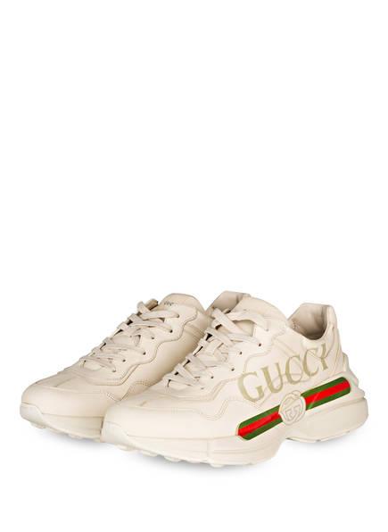 GUCCI Sneaker RHYTON , Farbe: CREME/ GRÜN/ ROT (Bild 1)