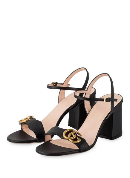 GUCCI Sandaletten, Farbe: SCHWARZ (Bild 1)