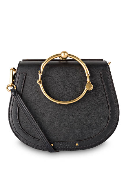 Chloé Handtasche NILE BRACELET MEDIUM , Farbe: SCHWARZ (Bild 1)