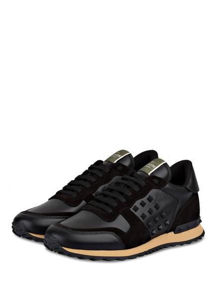 VALENTINO GARAVANI Sneaker ROCKSTUD, Farbe: SCHWARZ (Bild 1)