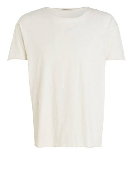 Nudie Jeans T-Shirt ROGER SLUB, Farbe: CREME  (Bild 1)