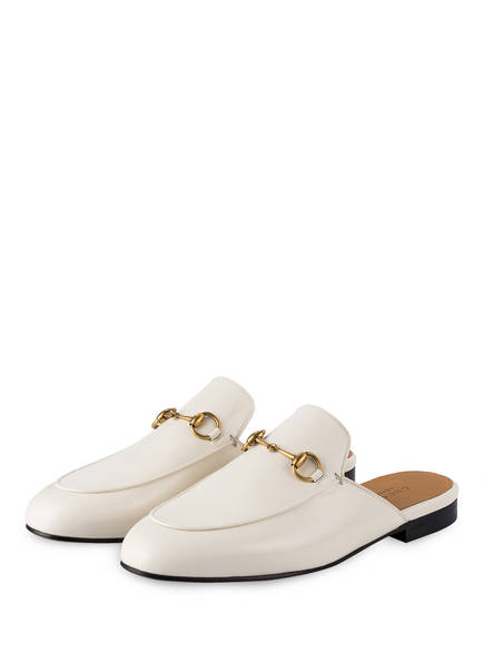 GUCCI Mules PRINCETOWN, Farbe: WEISS (Bild 1)