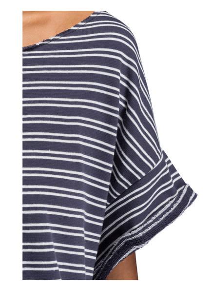 Weiss American shirt Gestreift T Blau Vintage wUPUHqz