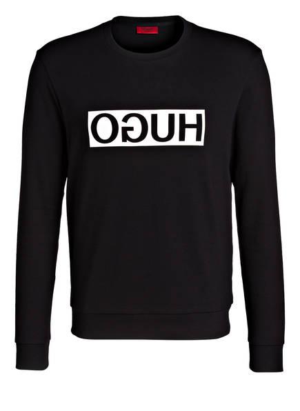 HUGO Sweatshirt DICAGO aus der HUGO REVERSED Kollektion, Farbe: SCHWARZ (Bild 1)