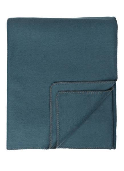 PROFLAX Plaid SECRET, Farbe: PETROL  (Bild 1)