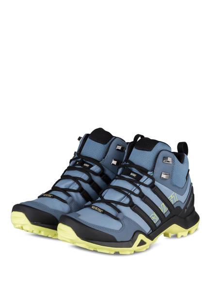 size 40 1e613 390f1 adidas Outdoor-Schuhe TERREX SWIFT R2 MID GTX, Farbe EISBLAU SCHWARZ (Bild