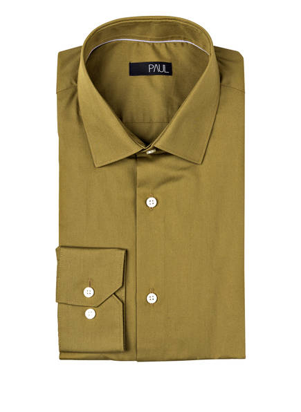 Paul Paul Hemd Oliv Fit Oliv Hemd Paul Slim Fit Slim Hemd CaACw