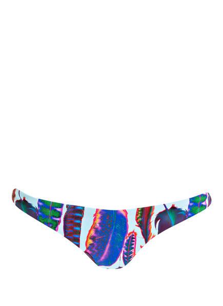 PILYQ Bikini-Hose zum Wenden, Farbe: HELLBLAU/ BLAU/ ROT  (Bild 1)